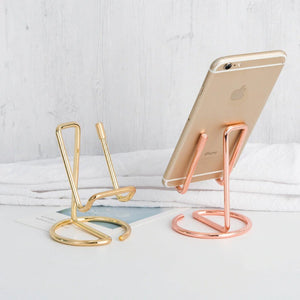 Chic and Nordic Style Phone and Tablet Stand