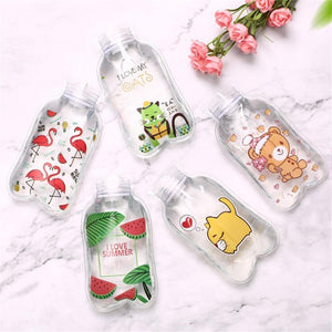 Cute Transparent Mini Explosion-Proof Hot Water Bottle