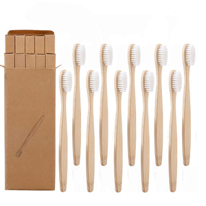Eco-Friendly Soft Fibre Bamboo Toothbrush