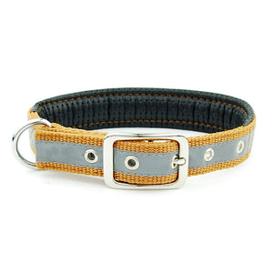 Soft Adjustable Reflective Padded Pet Collar