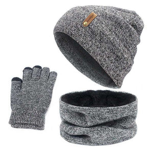 Beanie, Neck Warmer, and Glove Winter Set