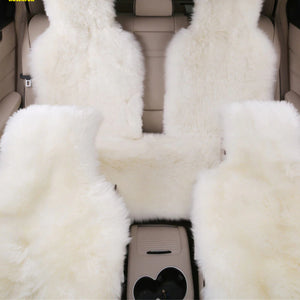 1 Piece Warm and Soft Fur Car Seat Cover