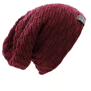 Slouchy Knitted Winter Beanie Hats