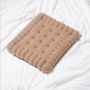 Decorative Plush Biscuit Shaped Pillow Chair
