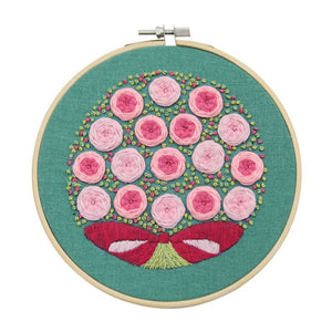 DIY Cross Stitch Starter Kit With Embroidery Hoop