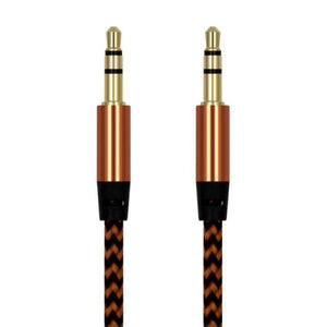 Premium Gold-Plated Auxiliary Audio Cable-TrendyVibes.CO