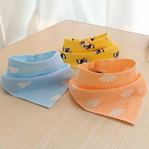 Baby And Toddler Essential Charming Triangular Bandanna Bib For Babies - Charming Triangular Bandanna Bib For Babies