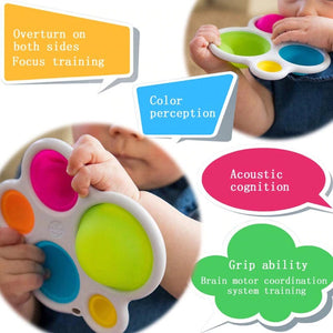 Silicone Bubble Toy For Babies And Toddlers Early Intelligence Development