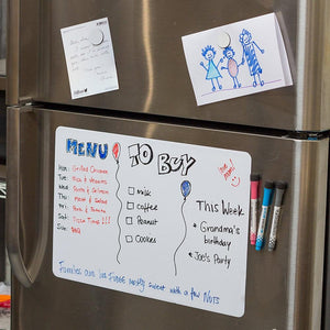 Big Magnetic Fridge Dry Erase Whiteboard-TrendyVibes.CO