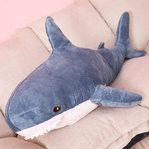 Big Size Shark Plush Stuffed Toy Soft Pillow - Big Size Shark Plush Stuffed Toy Soft Pillow