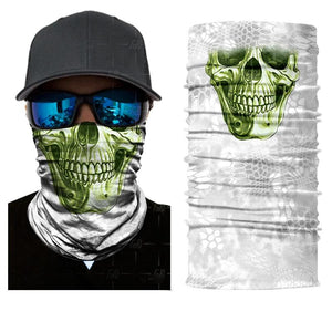 Breathable Skulls And Pirates Multi-Purpose Neck Warmer Masks - Breathable Skulls And Pirates Multi-Purpose Neck Warmer Masks