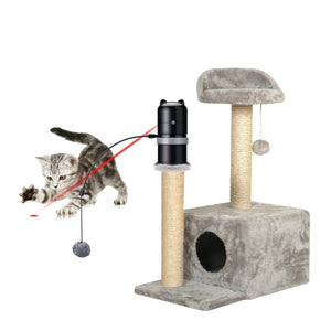 Electronic 360 Degrees Automatic Rotating Laser for Cats-TrendyVibes.CO