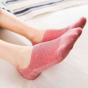 Comfortable And Colorful Ankle Socks - Comfortable And Colorful Ankle Socks