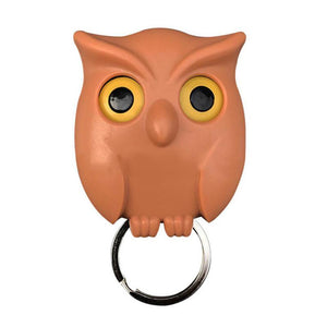 Cute Owl Magnetic Wall Hanging Key Holder - Cute Owl Magnetic Wall Hanging Key Holder