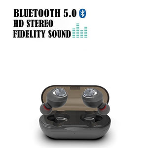 Deep Bass Stereo Wireless Earphone-TrendyVibes.CO