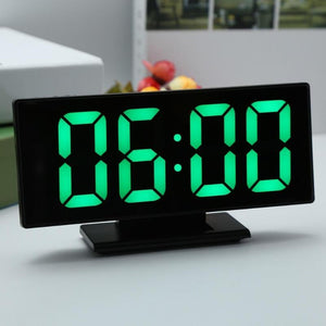 Digital Mirror LCD Alarm Clock-TrendyVibes.CO