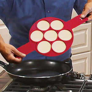 Silicone Non-stick Pancake Egg Waffle Maker-TrendyVibes.CO