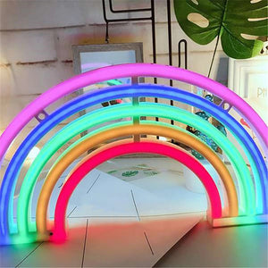 Colorful Rainbow Neon LED Sign Lamp
