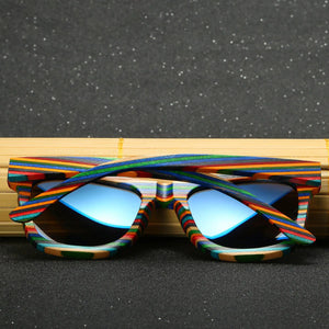 Polarized Wooden Summer Sunglasses