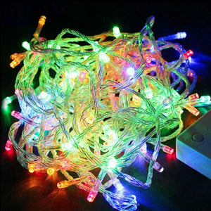 Christmas Holiday Fairy Lights- LED Light String Adjustable Light Remote Control Flash Fairy Lights Indoor and Outdoor Outdoor Christmas Decorative Lights Decorative Lights-TrendyVibes.CO