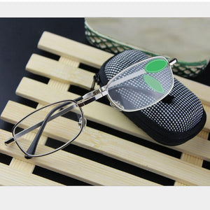 Foldable Clear Reading Glasses For Men And Women - Foldable Clear Reading Glasses For Men And Women