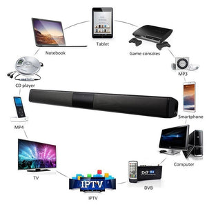 Gadgets And Electronics Bluetooth Soundbar Super Bass Speaker - Bluetooth Soundbar Super Bass Speaker