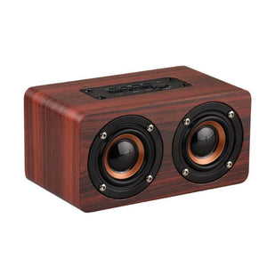 Gadgets And Electronics Mini Portable Wooden Wireless Bluetooth Speakers - Mini Portable Wooden Wireless Bluetooth Speakers