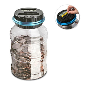 Great Gift Ideas Digital LCD Counting Coin And Money Jar - Digital LCD Counting Coin And Money Jar