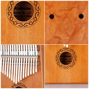 Great Gift Ideas Portable Wooden Instrument Finger Piano Kalimba - Portable Wooden Instrument Finger Piano Kalimba