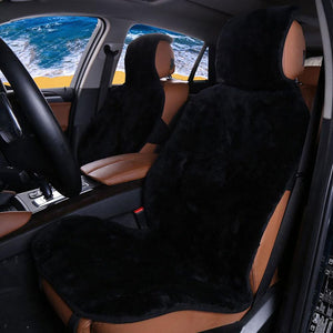 High Quality Faux Fur Car Seat Cover - 2 Pieces High Quality Faux Fur Car Seat Cover