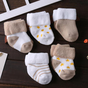 High Quality Thick Cotton Socks For Baby And Toddler - High Quality Thick Cotton Socks For Baby And Toddler