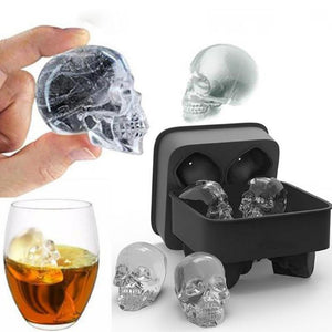 Home And Kitchen Creepy And Funny Ice Skull Cubes - Creepy And Funny Ice Skull Cubes