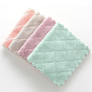 Home And Kitchen High Absorbent Pastel Colored Kitchen Dish Cloth - High Absorbent Pastel Colored Kitchen Dish Cloth