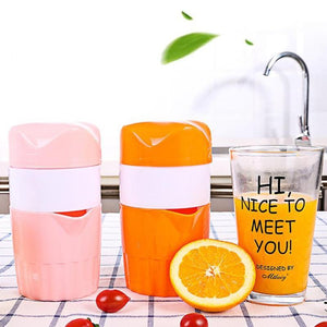 Home And Kitchen Orange And Lemon Manual Fruit Juicer And Squeezer - Orange And Lemon Manual Fruit Juicer And Squeezer
