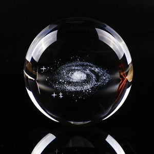 Miniature Galaxy Crystal Ball-TrendyVibes.CO