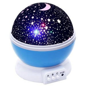 Starry Night Sky Bedroom Night Light Projector-TrendyVibes.CO