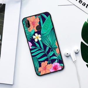 Floral Jungle TPU Case for Huawei-TrendyVibes.CO