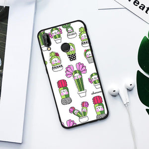Kawaii Cactus TPU Case for Huawei-TrendyVibes.CO