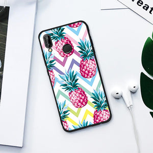 Psychedelic Pineapples TPU Case for Huawei-TrendyVibes.CO