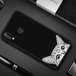 Purrfect Cat TPU Case for Huawei-TrendyVibes.CO