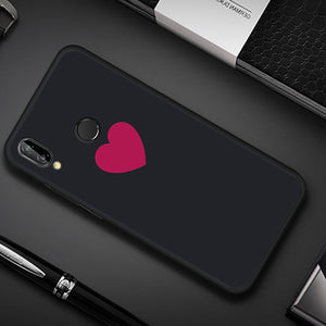 Simple Heart TPU Case for Huawei-TrendyVibes.CO