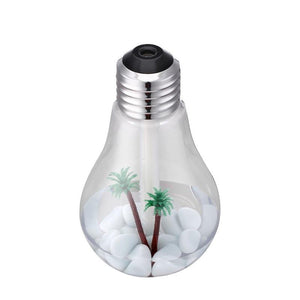 LED Color Changing Lamp Humidifier Essential Oil Diffuser-TrendyVibes.CO