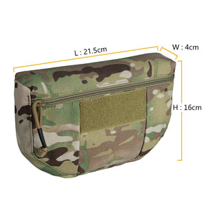 Military Tactical Camouflage Armor Carrier Drop Pouch