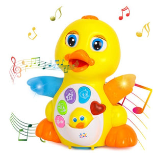 Infant Musical Duck Toy - Infant Musical Flapping Duck Toy