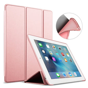 Slim And Soft Smart Silicone Case for iPad-TrendyVibes.CO