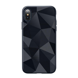 Prism Geometric TPU iPhone Case-TrendyVibes.CO