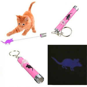 Laser Pointer Cat Toy With Different Cute Figures-TrendyVibes.CO