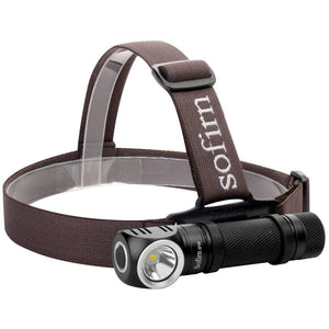 LED Rechargeable Flashlight With Power Indicator Magnet Tail - LED Headlamp With Power Indicator Magnet Trail