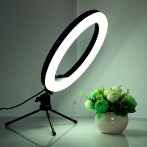 LED Ring Light Selfie Stick With Stand Tripod - LED Ring Light Selfie Stick With Stand Tripod