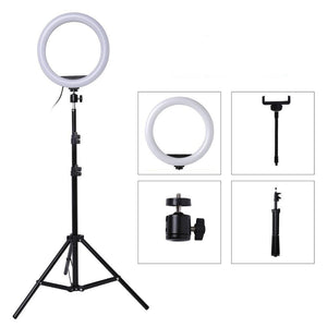 LED Ring Light Selfie Stick With Stand Tripod